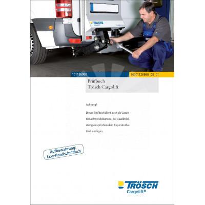 Журнал регистрации и контроля гидроборта BAR Cargolift