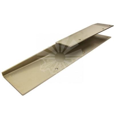 Накладка платформы угловая L = 377 мм (правая сторона)