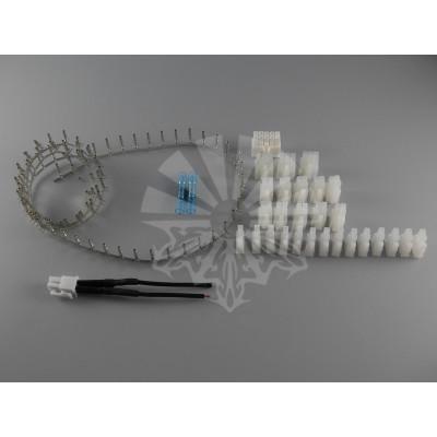 Комплект электрических контакт-гнезд и пластиковых разъёмов Molex