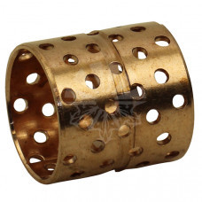 Втулка под палец бронзовая перфорированная Ø36 / Ø40 L=41 мм