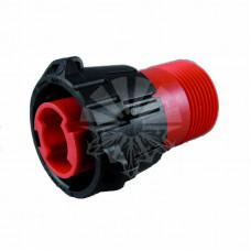 Разъем APD 1-контактный красный