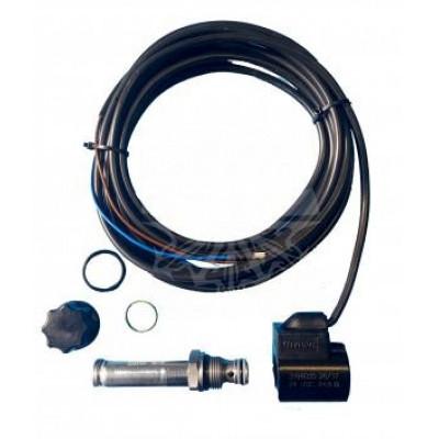 Электромагнитный клапан с катушкой и кабелем 2/2 двойного действия (DA) 24 В BAR
