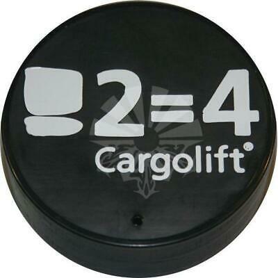 Заглушка Ø114 мм для отбойника с логотипом BAR Cargolift