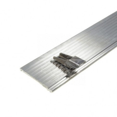 Планка алюминиевая ролл-стопа левая сторона MECH DHOLLANDIA